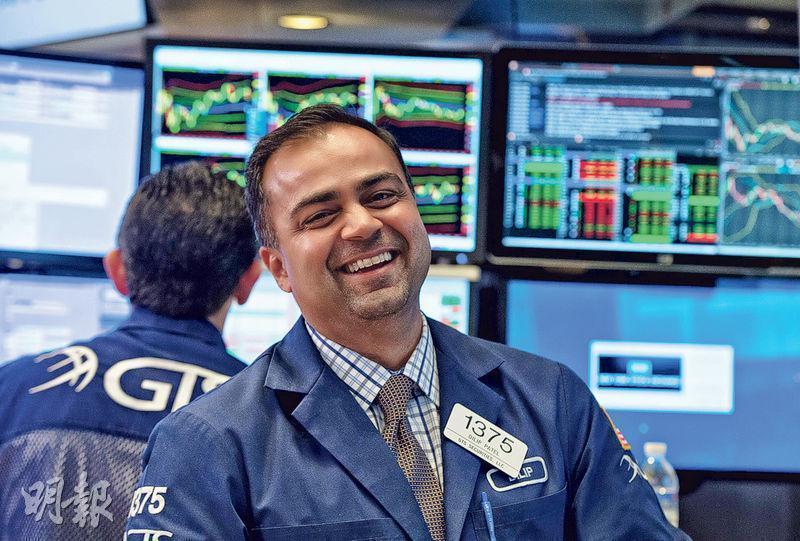 鮑威爾暗示有減息可能 美股齊漲逾2%