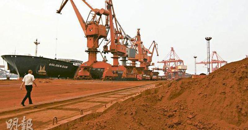 中國首5個月稀土出口量按年挫7%