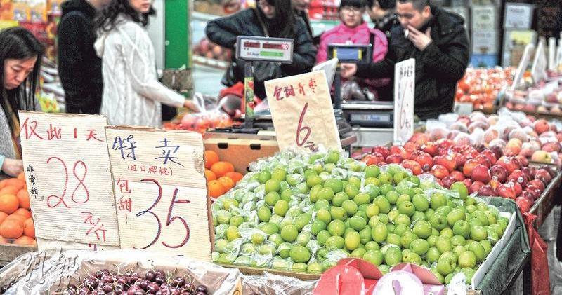 中國5月CPI按年漲2.7% 創15個月高