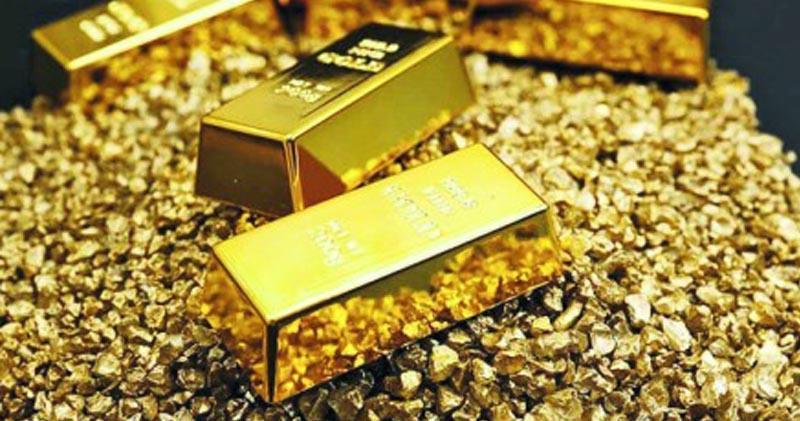 部分金礦股逆市升。