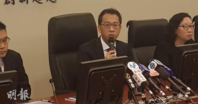 交銀國際研究部主管兼首席分析師洪灝(歐陽偉昉攝)