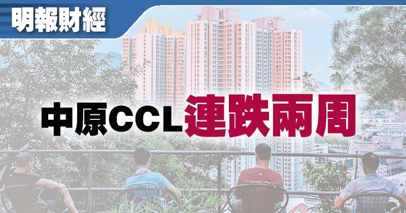中原CCL最新報186.26點 按周跌幅擴大至1.43%