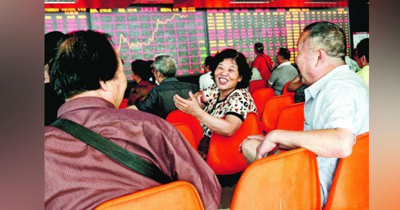 貿易談判新進展 滬指半日漲1.5% 創板指1500點得而復失