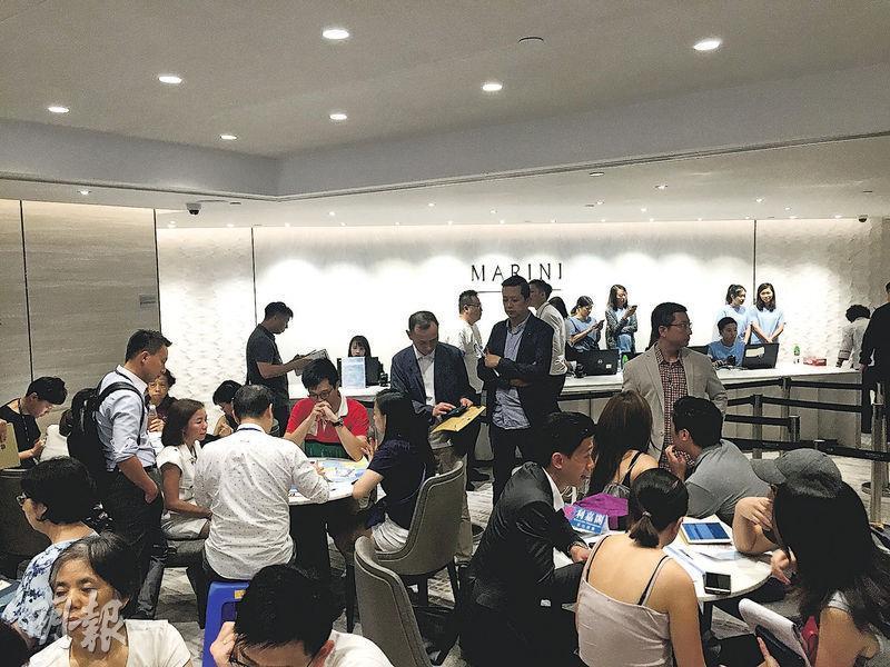 會德豐日出康城MARINI自公布首張價單,市場反應熱烈,兩日收票逾2800票,昨晚宣布加推130伙,據悉項目最快於本周末推售。