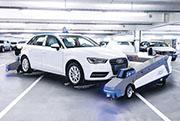 首長國際旗下停車場可使用自動泊車設備,車主將座駕泊於指定位置後,機器便會將該車移至適當車位。(公司提供)
