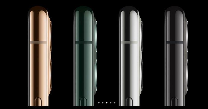 iPhone 11 Pro 4隻色