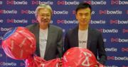 保泰人壽資深顧問曾俊華(左)、聯合創辦人兼聯合行政總裁顏耀輝(右)