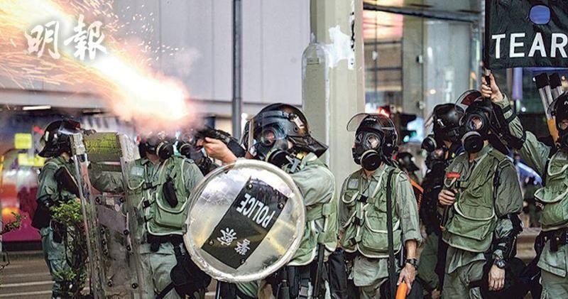 請用香港方法控制香港(資料圖片)
