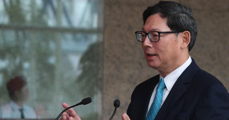 陳德霖表示,美減息未必對本港利率有直接影響。
