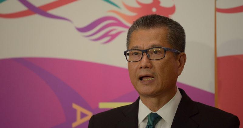 陳茂波預料,本港第三季經濟或見負增長。