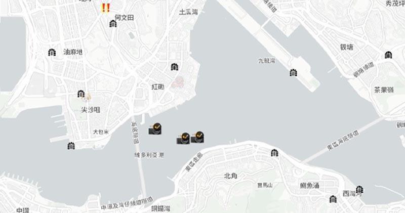 HKmap.live即時地圖批評蘋果將其下架屬政治決定