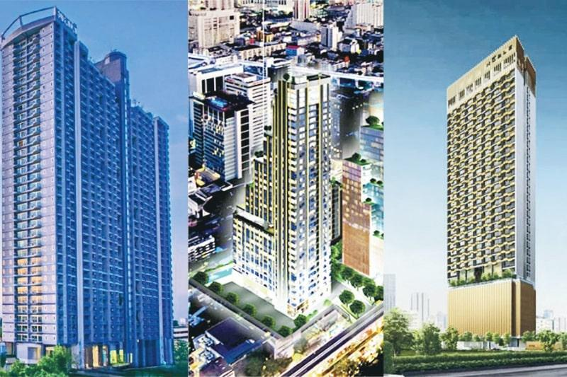 目前市場上有不少泰國樓盤可供選擇。