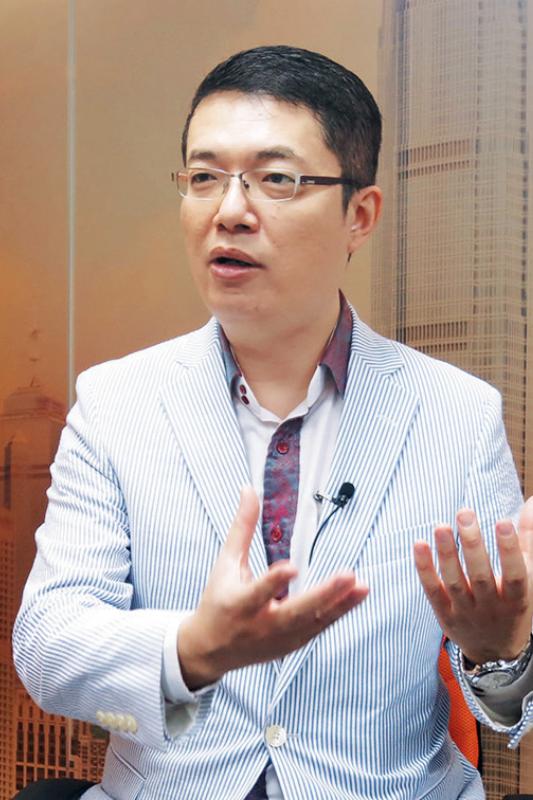 鍾學良認為佛山實體經濟力強,可支持租賃市場發展。