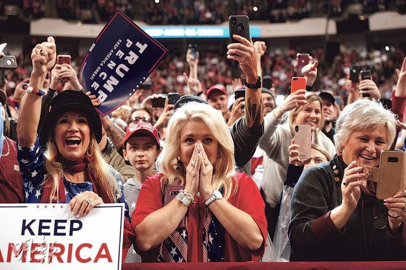 研究指經濟難左右美大選 經濟強區域 共和黨中期選舉反落敗