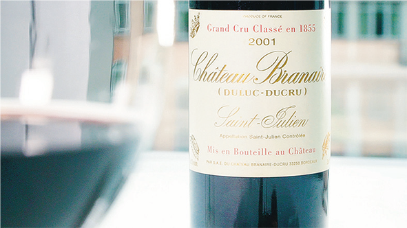 Saint Julien (Grand Cru Classe), Chateau Branaire Ducru (2001)