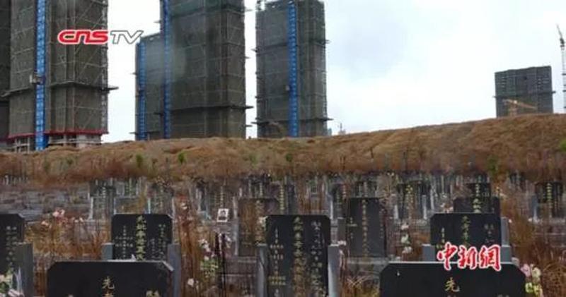 江西南昌一樓盤涉嫌虛假宣傳 (圖片來源:中新網視頻截圖)