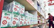 內地明年降奶粉稅率 乳業股齊挫