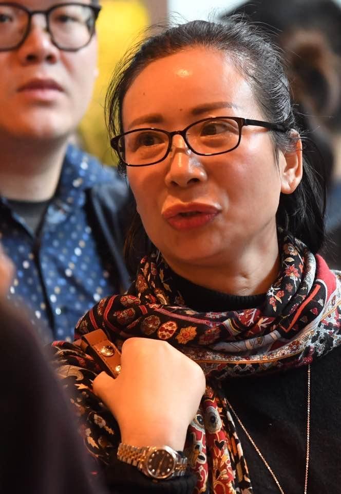準買家丁女士(劉焌陶攝)
