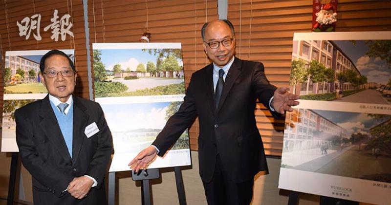 陳帆: 連同會德豐租地  現可建约8000個過渡住宅單位(劉焌陶攝)