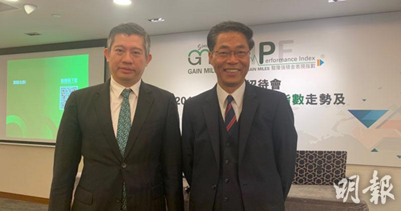 左起:駿隆集團執行董事王鈺龍、駿隆集團常務董事陳銳隆