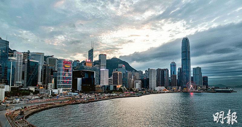 港大料去年香港第四季GDP按年跌3.3%