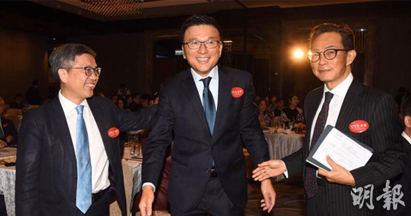 左至右:阮國恆 陳家強 黃繼兒 (劉焌陶攝)