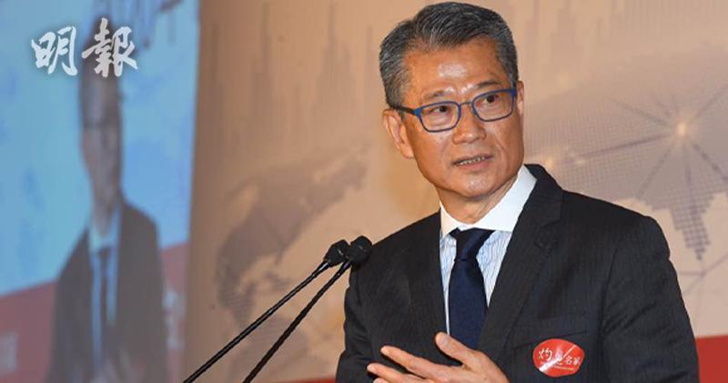 財政司司長陳茂波(劉焌陶攝)