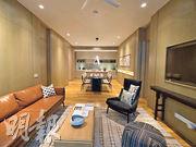 東家集團的吉隆坡豪宅新盤Conlay最大單位面積為1335方呎,大廳長近30呎,客飯廳佈局分明。