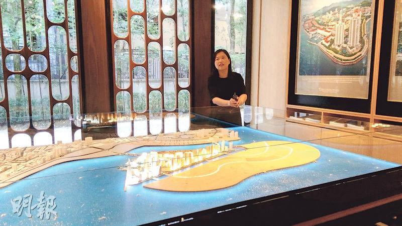 東家集團於檳城已與政府合作完成大規模填海工程,造地750英畝,料可發展為數千伙的大型屋苑。(葉創成攝)