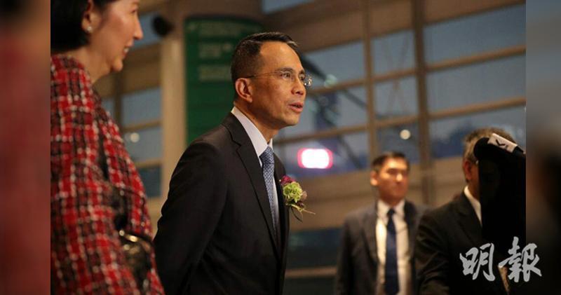 李澤鉅︰對香港情況審慎樂觀 中港仍為重要市場 (曾憲宗攝)
