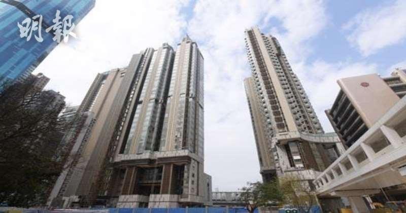 維港頌有三房間隔單位以呎租48元成功出租。