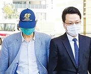 廉政公署昨日同時起訴林楚華(左)一項向公職人員提供利益罪;林任職聯威投資負責人、董事及首席營運及合規和風管總監。(余卓祈攝)