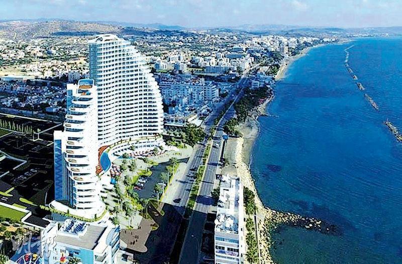 Limassol Del Mar項目模擬圖