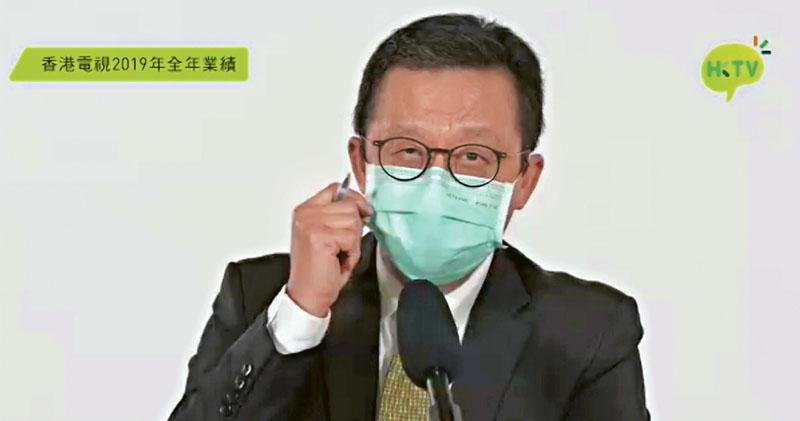香港電視旗下HKTVmall有望在一至兩周後開賣其生產的口罩,副主席兼行政總裁王維基(圖)透露,口罩已進入試產階段,笑言他現時佩戴的應該是首個生產的「001號」口罩。