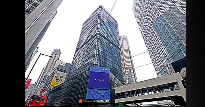 環球大廈每呎叫租69元 低去年高位三成
