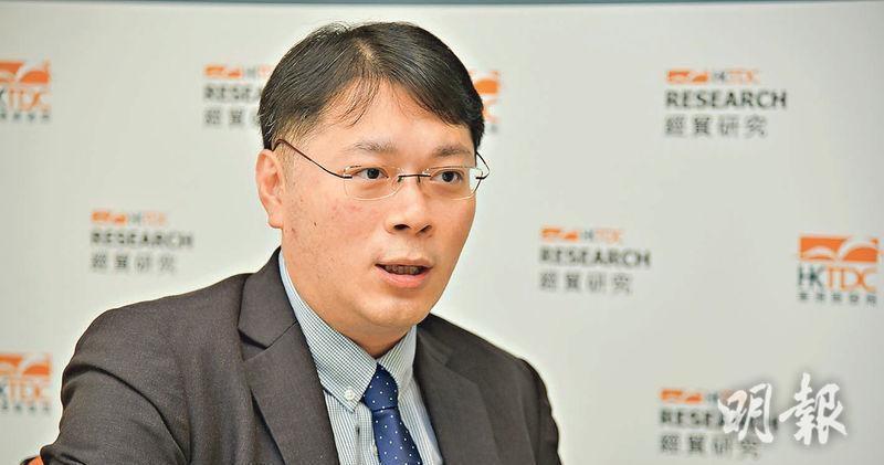 貿發局研究部環球市場助理首席經濟師陳永健(資料圖片)
