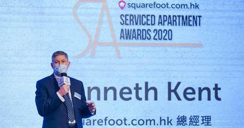 Squarefoot總經理Kenneth Kent
