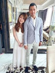 雖然台灣收入「同香港冇得比」,但譚震邦認識台灣女友,於去年結婚。