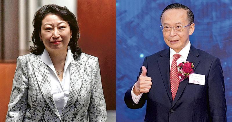 鄭若驊丈夫潘樂陶旗下公司獲批2474萬元保就業工資津貼