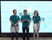 圖左起為楊偉銘、黃光耀及陳惠慈