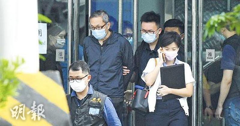 左上為壹傳媒CEO張劍虹(資料圖片)