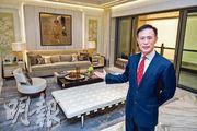 信置田兆源認為,支持香港樓市的利好因素未曾改變,料疫情緩和後,市場累積的龐大購買力將會釋出。(林靄怡攝)
