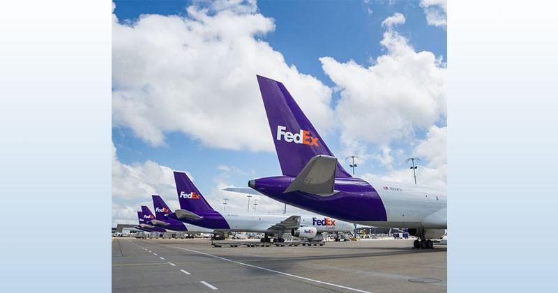 疫情帶動送貨量 FedEx首季收入勝預期(截圖自官網)