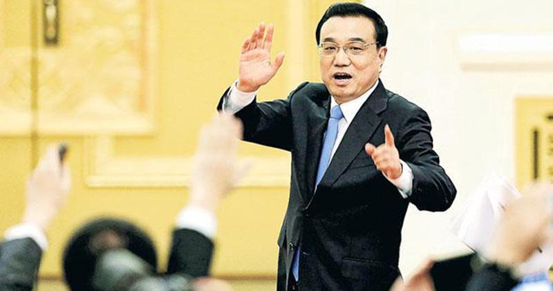 李克強︰中國全年經濟有望增長