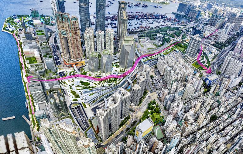 新地:西九商業地王項目預計2028年落成