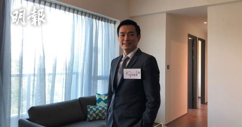 萬科香港執行董事周銘禧(梁穎思攝)