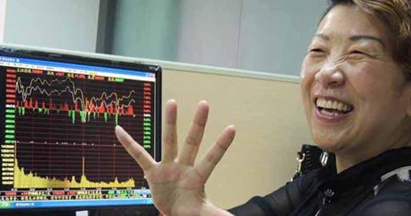 內地股市終止二連跌 上證全日收升5點