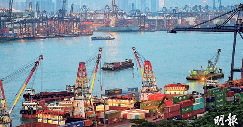 香港8月份出口按年跌2.3% 勝預期 進口、逆差遜預期
