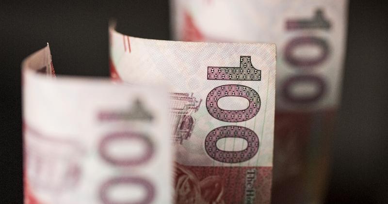 金管局:8月港元存款增3565億元 年率化貸款增27%