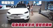 電動車股有支持 宜趁低吸納